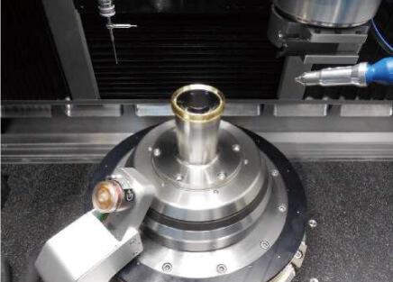 真鍮製枠φ 5 0 ㎜ 両凸レンズの加工